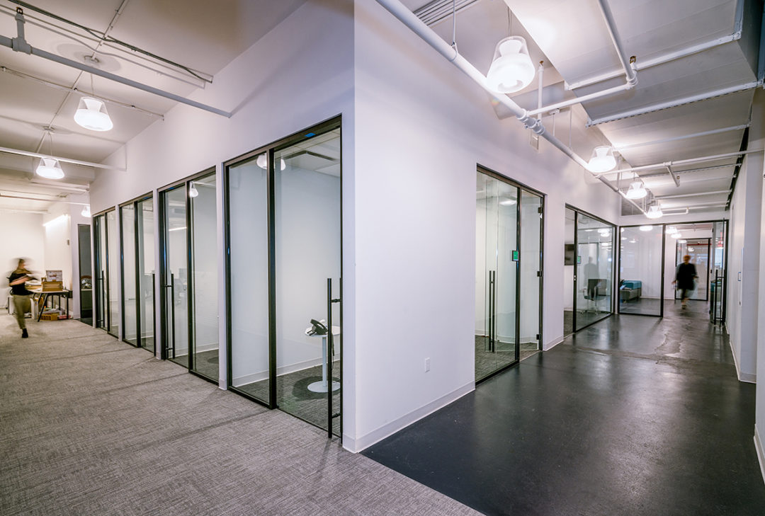 Blueberry Builders & Grovo project. Learn about our completed office renovation projects across New York, perfected by our skilled commercial contractors.