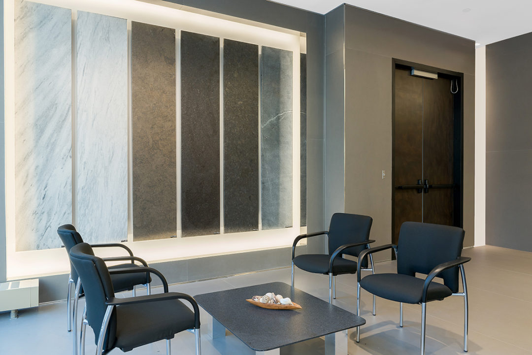 Blueberry Builders & HG Stone project. Learn about our completed office renovation projects across New York, perfected by our skilled commercial contractors.