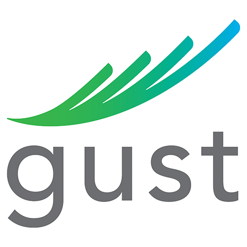 Gust logo. Learn about Blueberry Builders' dynamic focus on exceptional construction management services and client satisfaction.
