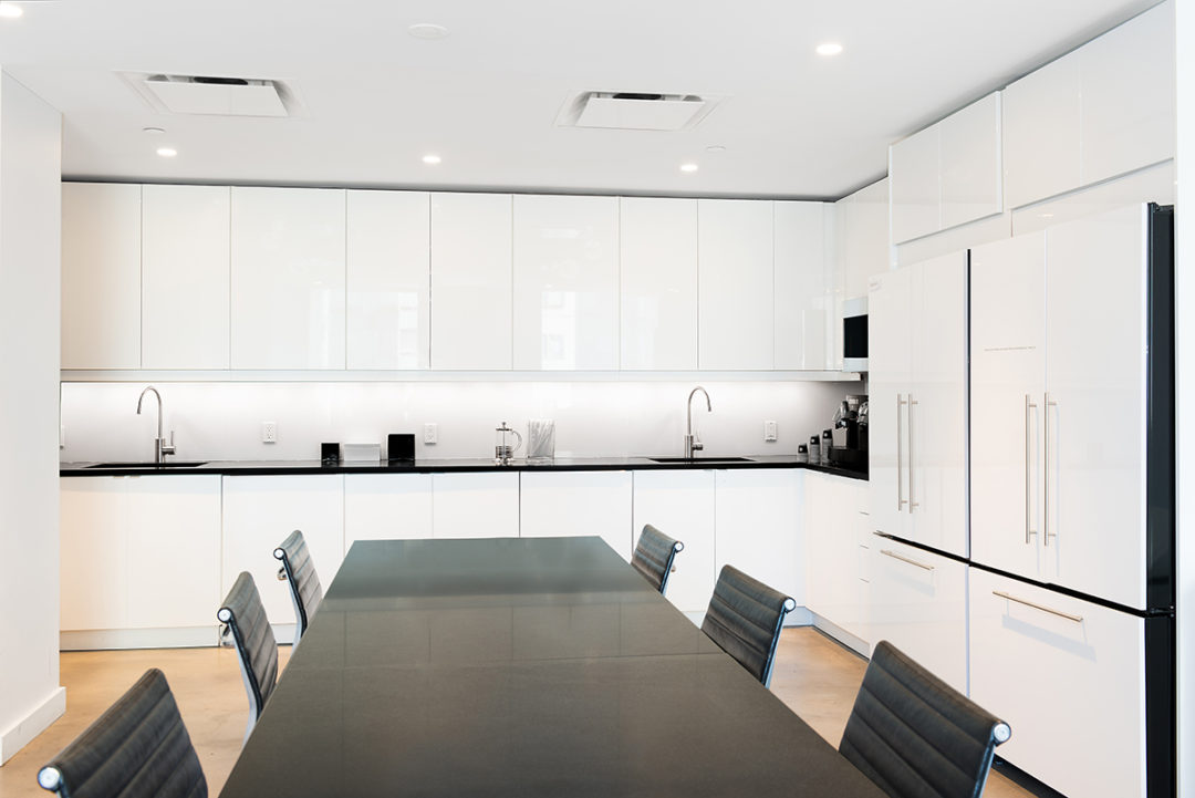 Blueberry Builders & Versace project. Learn about our completed office renovation projects across New York, perfected by our skilled commercial contractors.