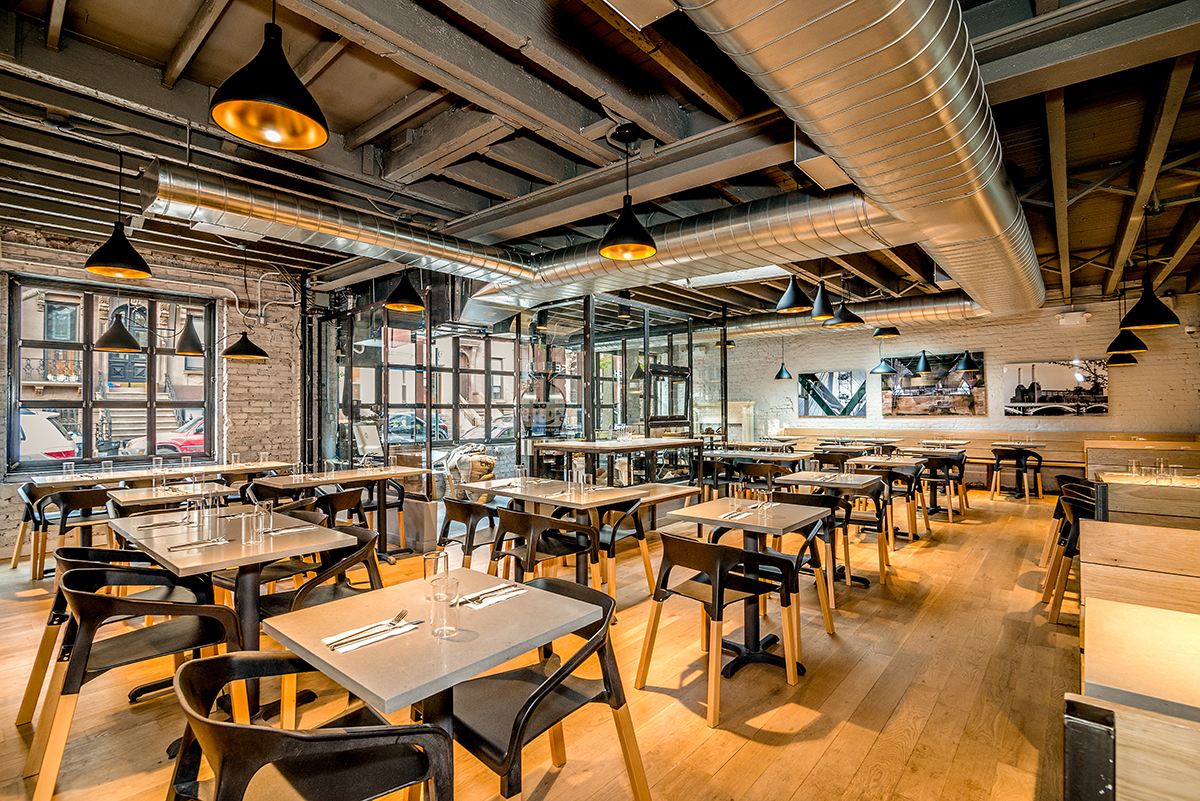Blueberry Builders & East One project. View our remodeling contractors' work in hospitality construction. At Blueberry, we bring passion and creativity to every project.